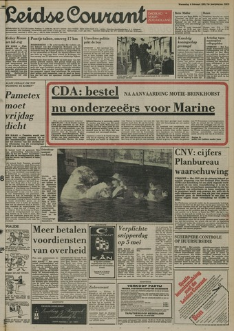 Leidse Courant 1981-02-04
