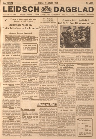 Leidsch Dagblad 1942-01-30