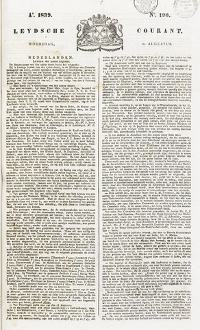 Leydse Courant 1839-08-21
