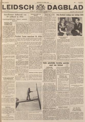 Leidsch Dagblad 1951-04-10