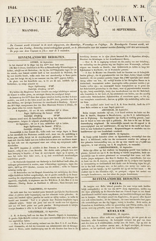 Leydse Courant 1844-09-16