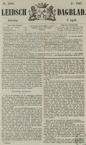 Leidsch Dagblad 1867-04-02