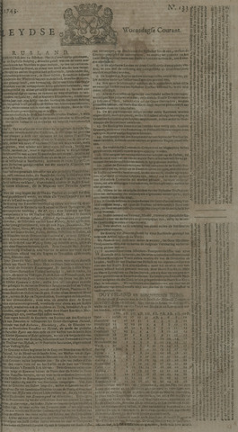 Leydse Courant 1743-11-06