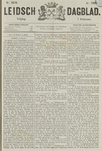 Leidsch Dagblad 1868-02-07