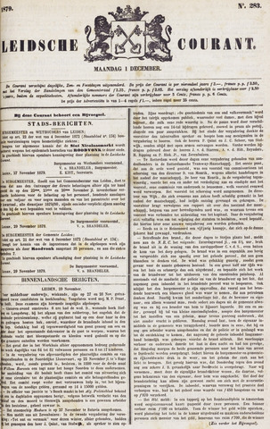 Leydse Courant 1879-12-01