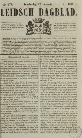 Leidsch Dagblad 1861-01-17