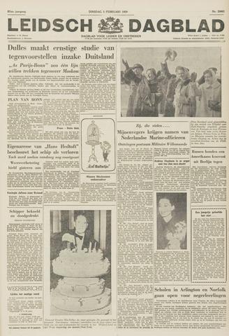 Leidsch Dagblad 1959-02-03