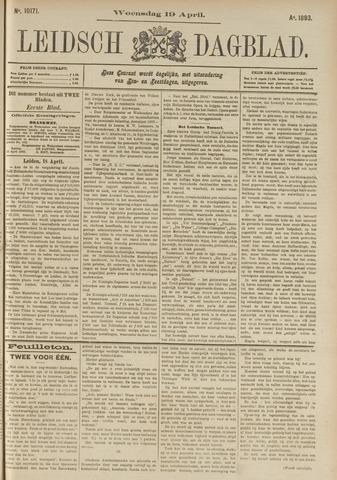 Leidsch Dagblad 1893-04-19
