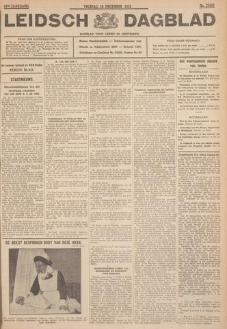 Leidsch Dagblad 1928-12-14