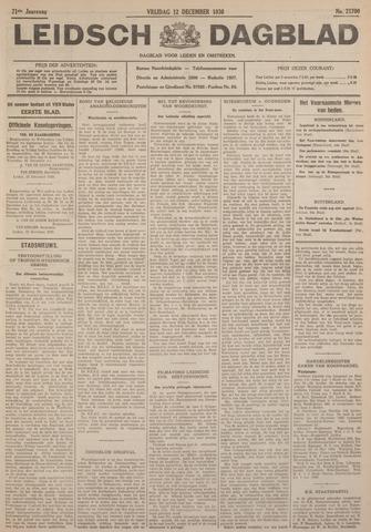 Leidsch Dagblad 1930-12-12