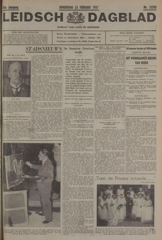 Leidsch Dagblad 1937-02-25