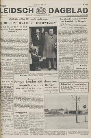 Leidsch Dagblad 1955-05-27