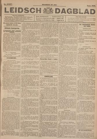 Leidsch Dagblad 1926-07-26