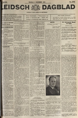 Leidsch Dagblad 1932-12-02