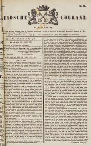 Leydse Courant 1885-03-09