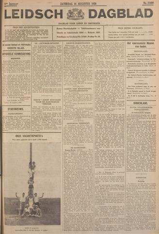 Leidsch Dagblad 1930-08-16