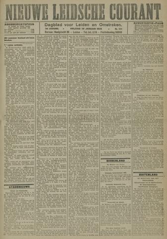 Nieuwe Leidsche Courant 1923-01-26