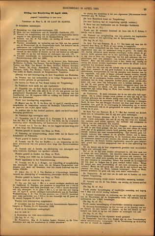 Handelingen van de Raad 1893-04-20