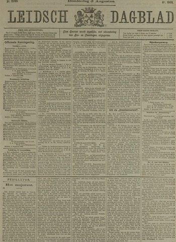 Leidsch Dagblad 1909-08-05