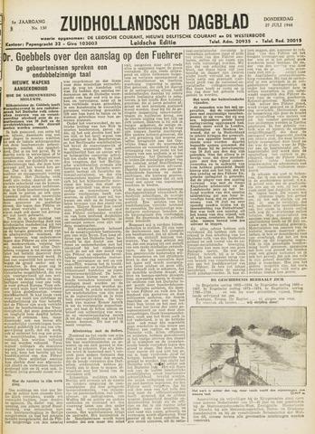 Zuidhollandsch Dagblad 1944-07-27