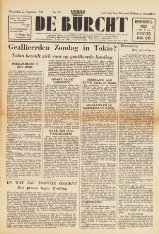 De Burcht 1945-08-22