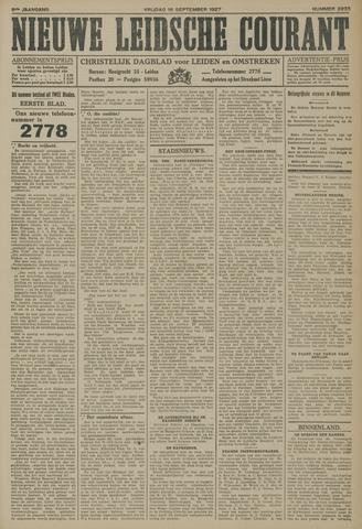 Nieuwe Leidsche Courant 1927-09-16