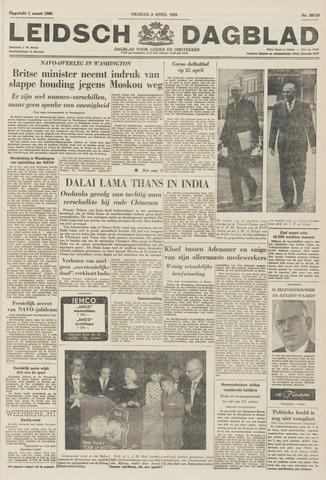 Leidsch Dagblad 1959-04-03