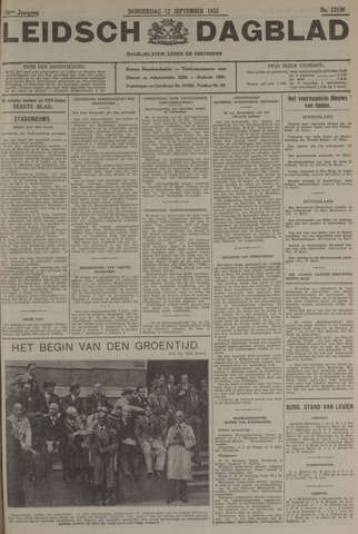 Leidsch Dagblad 1935-09-12