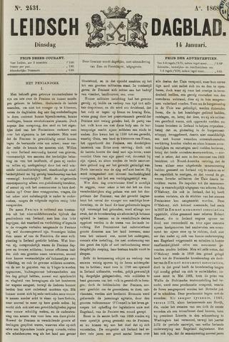 Leidsch Dagblad 1868-01-14