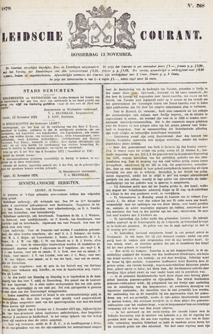 Leydse Courant 1879-11-13