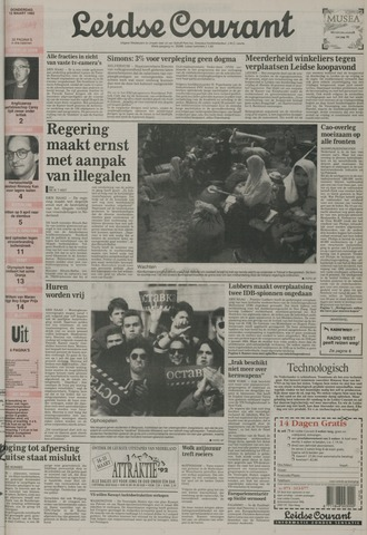 Leidse Courant 1992-03-12