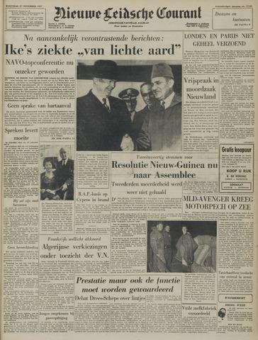 Nieuwe Leidsche Courant 1957-11-27