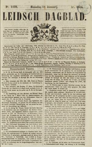 Leidsch Dagblad 1864-01-18