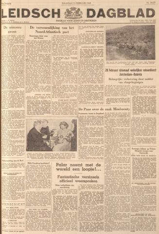 Leidsch Dagblad 1949-02-21