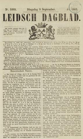 Leidsch Dagblad 1863-09-08