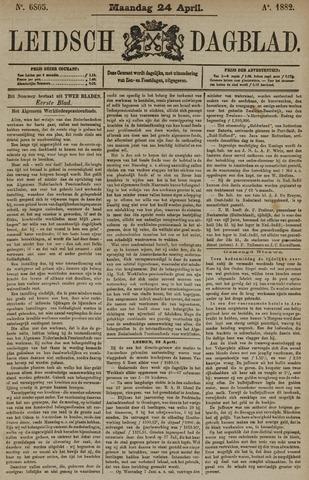 Leidsch Dagblad 1882-04-24