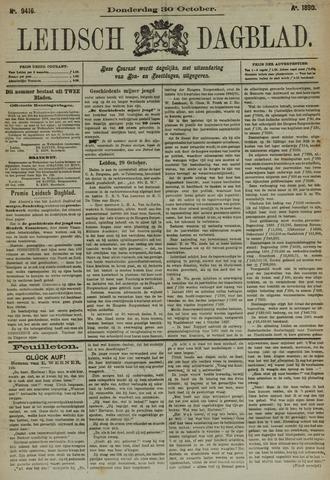 Leidsch Dagblad 1890-10-30