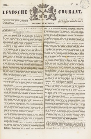 Leydse Courant 1862-12-17