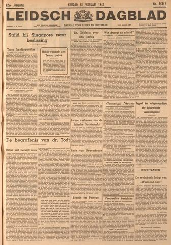 Leidsch Dagblad 1942-02-13