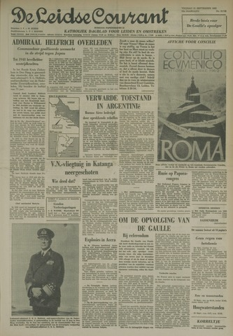 Leidse Courant 1962-09-21