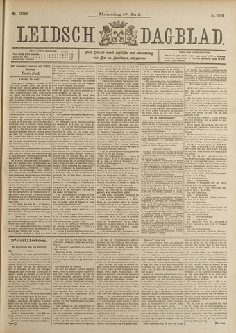 Leidsch Dagblad 1899-07-17