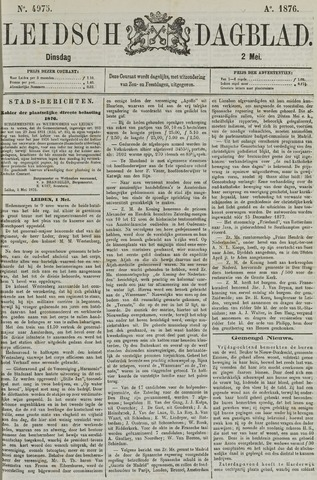 Leidsch Dagblad 1876-05-02