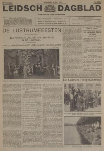 Leidsch Dagblad 1935-07-03