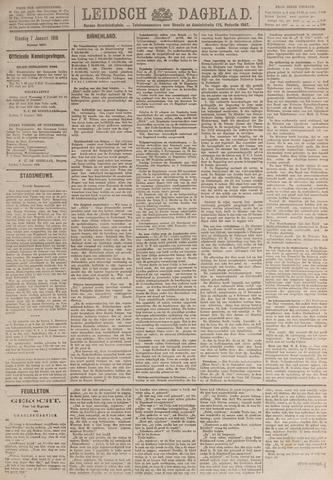 Leidsch Dagblad 1919-01-07