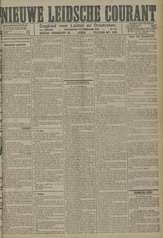 Nieuwe Leidsche Courant 1921-02-23