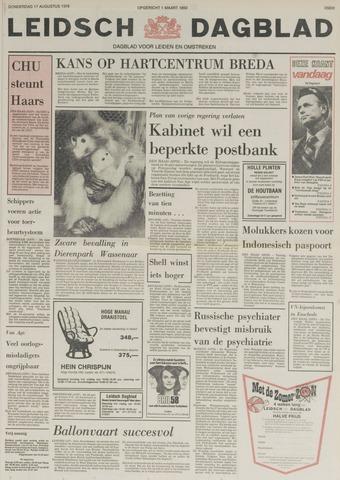 Leidsch Dagblad 1978-08-17
