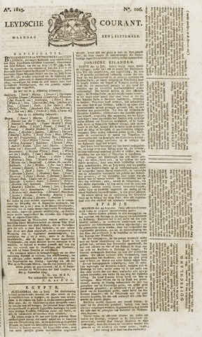 Leydse Courant 1825-09-05