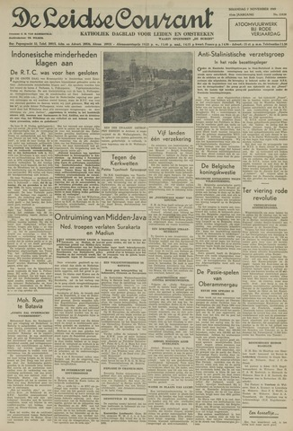 Leidse Courant 1949-11-07