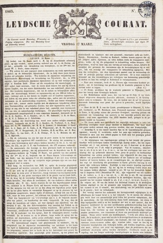 Leydse Courant 1865-03-17