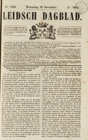 Leidsch Dagblad 1864-11-30